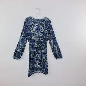 Xhilaration Dresses - Xhilaration Fits Flare Laced Front Floral Dress XL